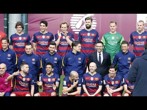 FC Barcelona photo session (season 2015/16)