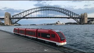 Lego Train Rail/Road Trip