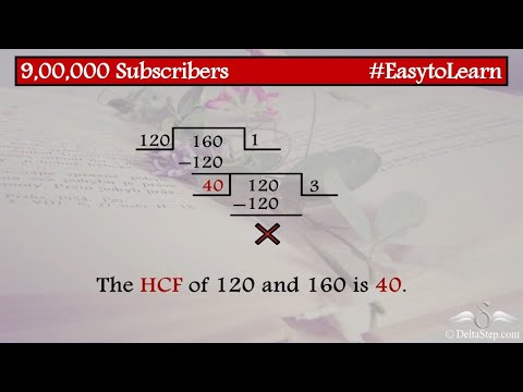 HCF of 3 numbers: Long division method