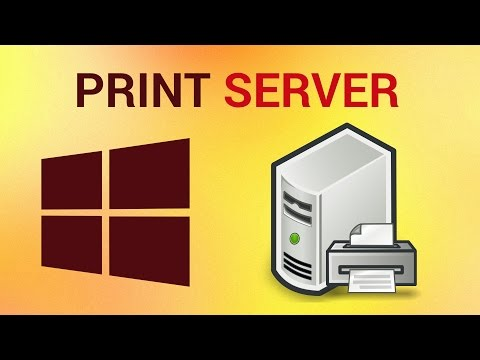 How to Install Print Server on Windows 7