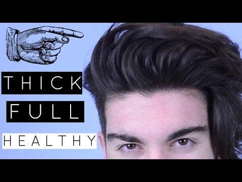 How to: Achieve FULL and THICK hair | Men's Hair
