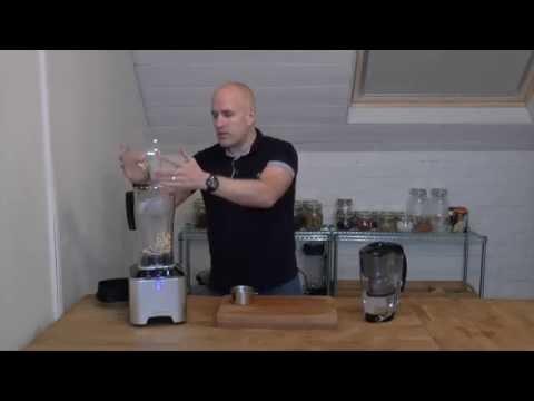 Making Cashew Milk in the Optimum G2.1 Blender
