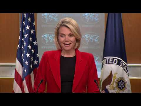 Department Press Briefing - May 29, 2018
