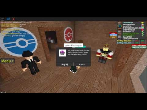 How To Get FREE Master Balls on Roblox Project Pokemon!!