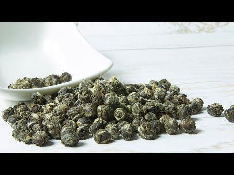 Jasmine Dragon Pearl Tea - Green Tea & Jasmine Tea Benefits
