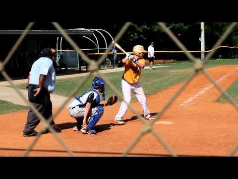 Wesley Brooks - Wooden Bat Tournament - Hit - 2012 - 14U (2)
