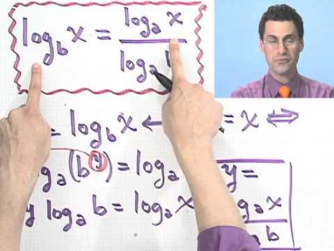 Using the Change of Base Formula
