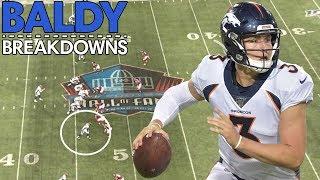 Analyzing Drew Lock's NFL Preseason Debut | Baldy Breakdowns