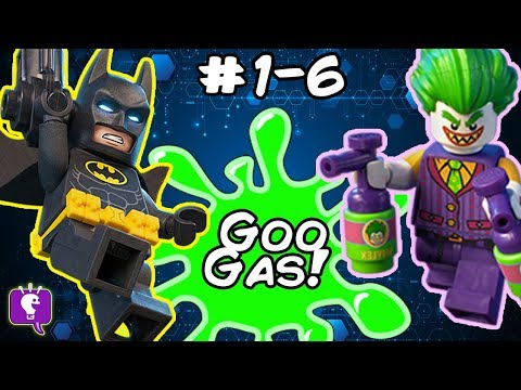 GOO GAS COMPILATION with Lego Batman #1 thru #6 Playlist by HobbyKidsTV