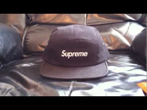 252ab6b7b1f Supreme hat 5 panel - Supreme Canvas Camp Cap 2012