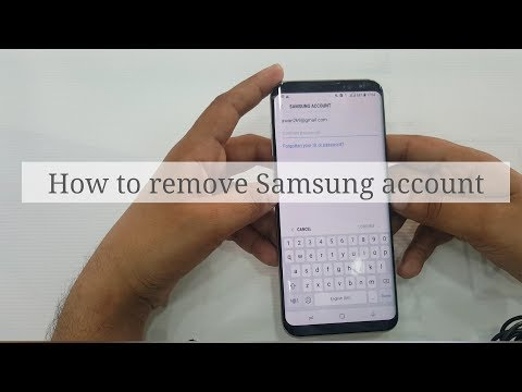 How to remove Samsung account without Password | S8 |S9 | S8 plus| any Samsung modals