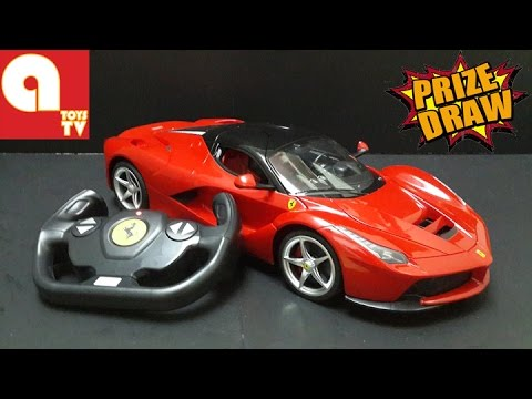 FREE TOYS GIVEAWAY Ferrari LaFerrari Remote Toy Car topgear fast and furious