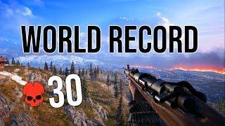 Battlefield 5 Firestorm World RECORD Kills! | 30 Total Squad Kills! Battle Royale