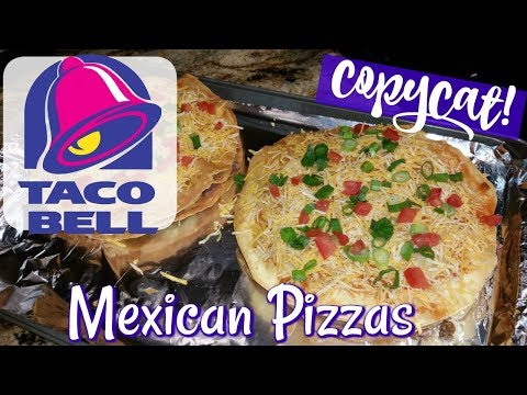 TACO BELL MEXICAN PIZZAS~FOODIE FRIDAYS!