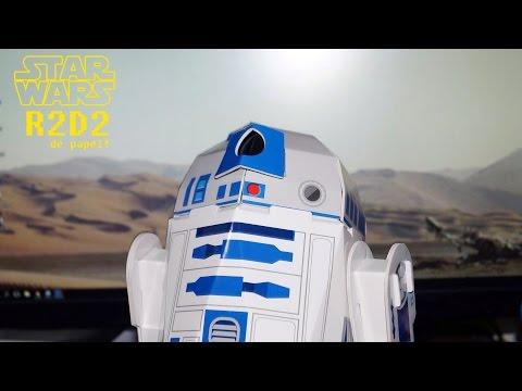 R2-D2 de papel! - Droid Workshop book speed build
