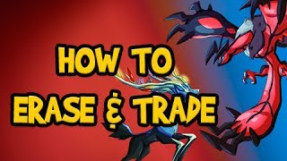 Pokemon X And Y Tutorial How To Start New Game Erase Delete Save File