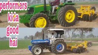 NH 5630 4wd  vs JD 5075 4WD