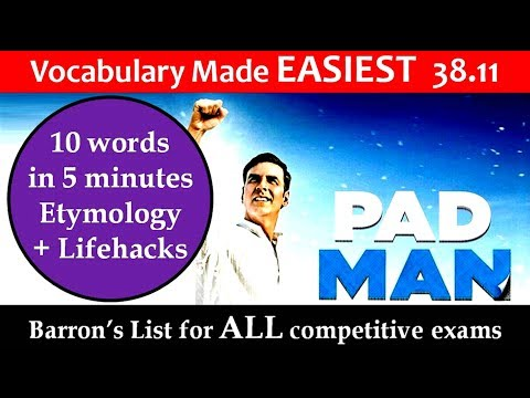 vocabulary made easiest 38.11 learn etymology by puneet biseria in hindi