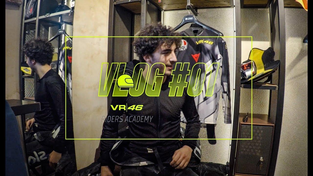 """VLOG VR46 Riders Academy #01 - Francesco """"Pecco"""" Bagnaia"""