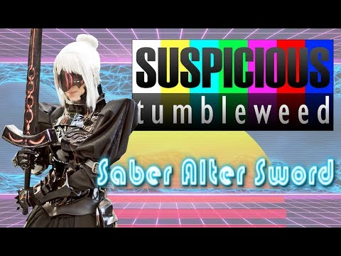 Saber Alter - Glowing Sword Tutorial