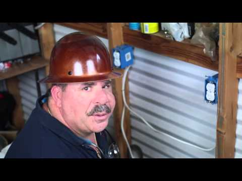 How to Install Electric Outlets in Insulated Basement Walls : Electrical Installations & Repairs