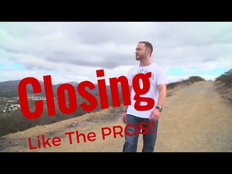 Network Marketing Training - How To Close Like the Pros!