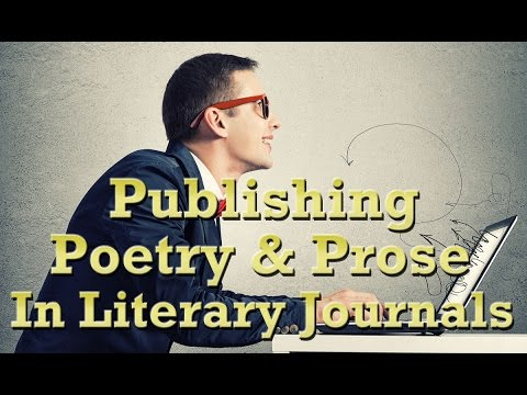 Publishing Poetry & Prose in Literary Journals — Official Book Trailer