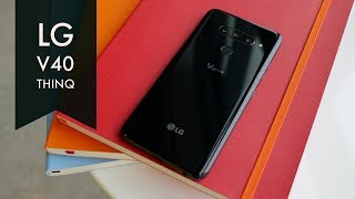 LG V40 ThinQ Review - Look Ma, 5 Cameras!