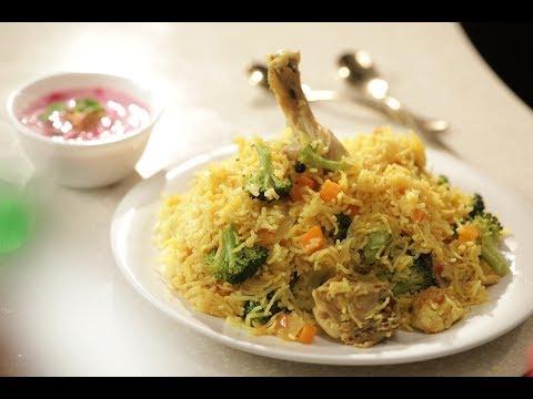 Quick Chicken Pulao | Family Food Tales with Mrs Alyona Kapoor | Sanjeev Kapoor Khazana