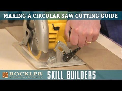 Make a Simple Circular Saw Cutting Guide | Rockler Skill Builders