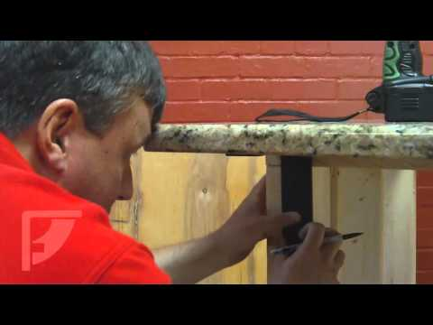 HOW-TO: Install Freedom Countertop Brackets for an Invisible Countertop Support