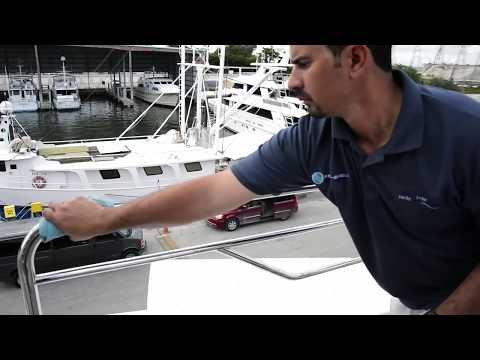 Better than boat wax? Premium Yacht Detailing Products