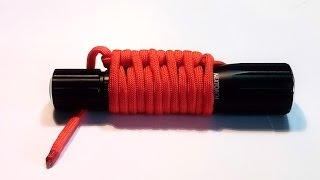 Simple Paracord wrap, 1 second to unwrap
