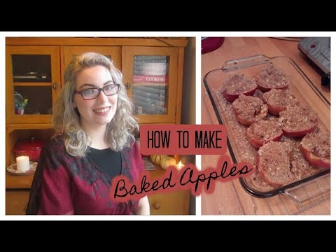 HOW TO MAKE -  Baked Apples