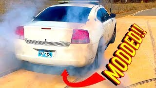 $1600 Copart Dodge Charger Police Car Rebuild + Mods - Police Came to my House!!!