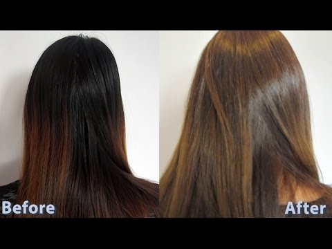 How to dye asian hair brown 3 / How to do a root touch up