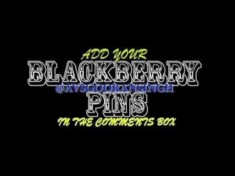 Blackberry PIN Exchange