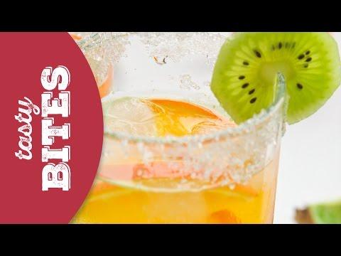 Orange and Kiwi infused water