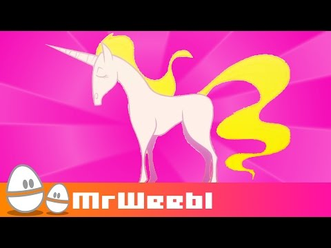Unicorn : animated music video : MrWeebl