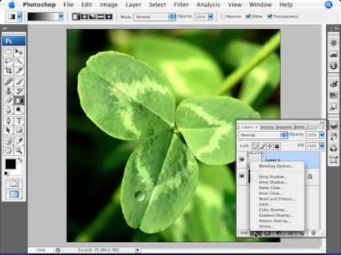 Learn Photoshop - How to Create a Water Droplet