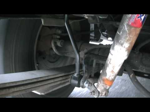 Ford Explorer Rear Suspension With Stiffer Springs