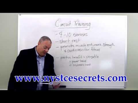 New York State Teacher Certification Exam - Circuit Training