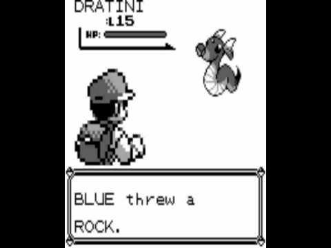 Pokemon - Blue play 22 catching dratini