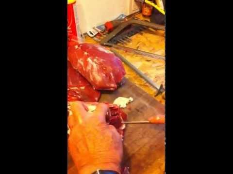 How to cut up a deer 9- sirloin