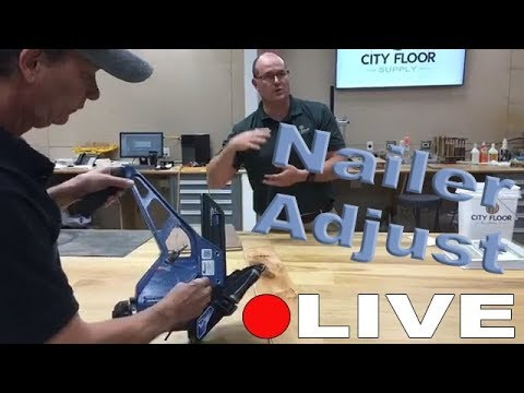 Primatech P250 Pneumatic Air Nailer Deck Adjustments | Web Order Winner Announced