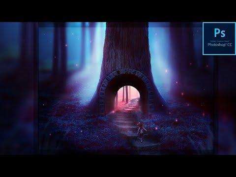 Fantasy Photo Manipulation | Adobe Photoshop