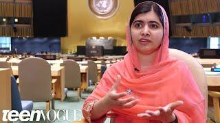 Why Malala Yousafzai Thinks Teenage Girls Will Save the World | Teen Vogue