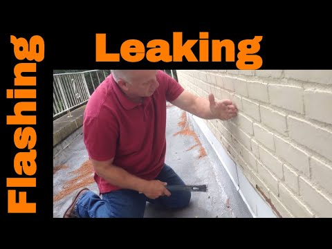 Flashing and flat roof repairs