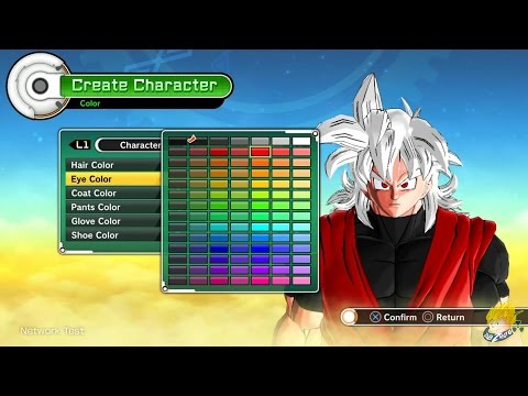 Dragon Ball Xenoverse: All Race Character Creation [ENGLISH Online Beta]【FULL HD】