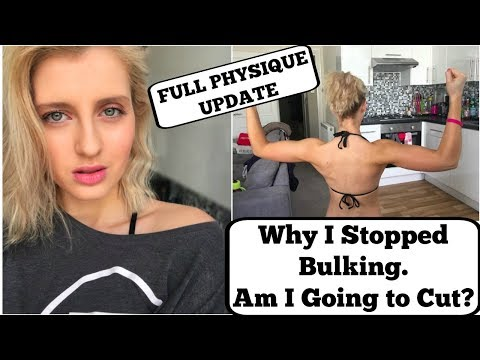 Why I Stopped Bulking || AM I CUTTING? || Suffering From Body Dysmorphia
